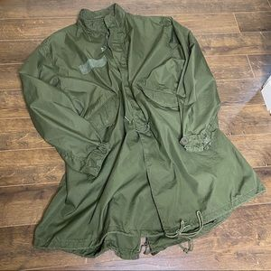 VTG AUTHENTIC Military Issue Long Parka Jacket